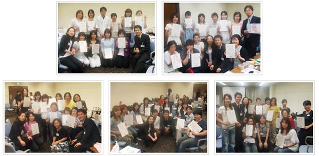 2007年6月17日開催 DHP歯科衛生士(看護師)対象嚥下研修会 間接訓練修了者