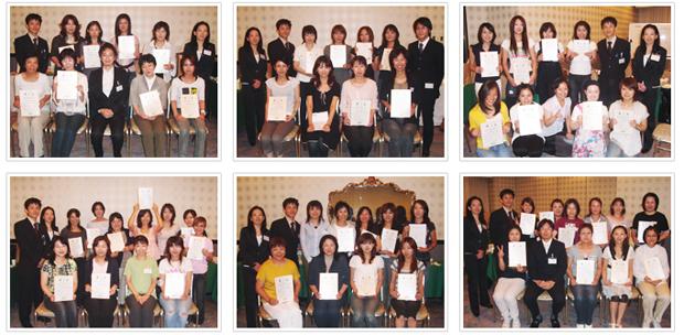 2007年9月9日開催 DHP歯科衛生士(看護師)対象嚥下研修会 直接訓練修了者
