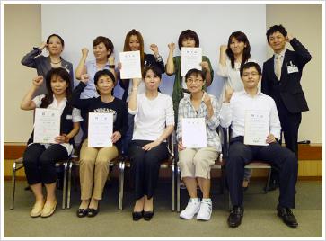 2010年9月12日開催 DHP多職種対象嚥下研修会 直接訓練修了者