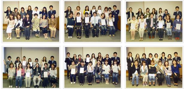 2010年5月16日開催 DHP歯科衛生士(看護師)対象嚥下研修会 間接訓練修了者