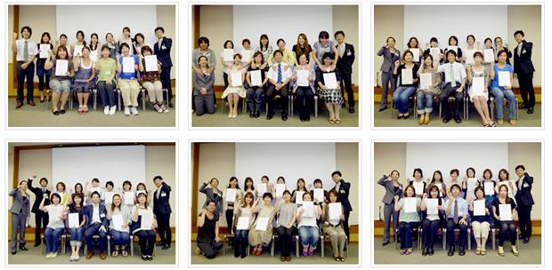 2010年9月12日開催 DHP歯科衛生士(看護師)対象嚥下研修会 直接訓練修了者