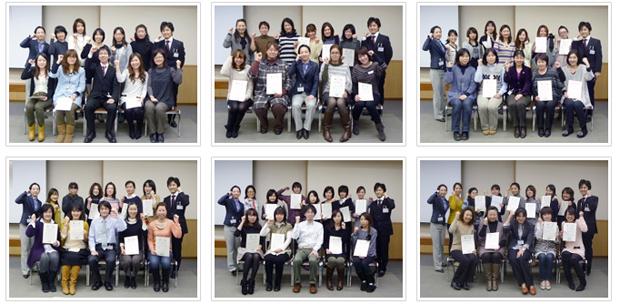 2012年2月12日開催 DHP歯科衛生士(看護師)対象嚥下研修会 食事介助修了者
