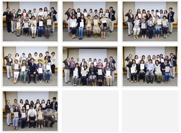 2012年5月13日開催 DHP歯科衛生士(看護師)対象嚥下研修会 間接訓練修了者