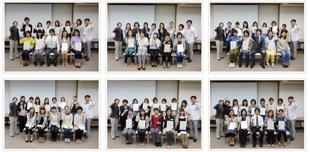 2013年5月12日開催 DHP歯科衛生士(看護師)対象嚥下研修会 間接訓練修了者