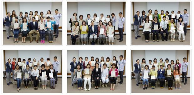2014年5月11日開催 DHP歯科衛生士(看護師)対象嚥下研修会 間接訓練修了者