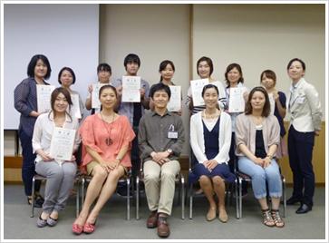 2012年9月9日開催 嚥下トレーナー歯科衛生士(看護師)認定者