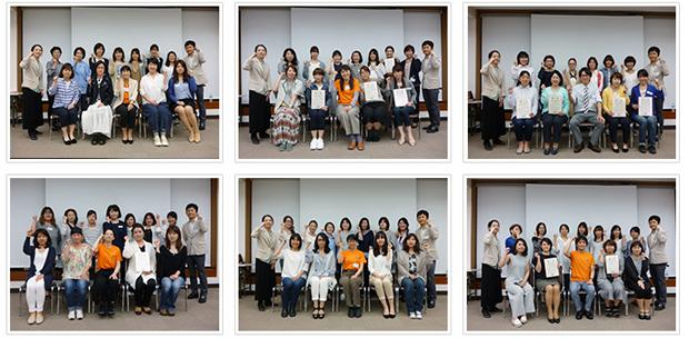 2016年5月15日開催 DHP歯科衛生士(看護師)対象嚥下研修会 間接訓練修了者