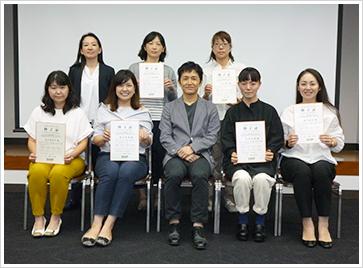 2018年9月2日開催 嚥下トレーナー歯科衛生士(看護師)認定者
