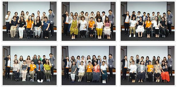 2018年9月2日開催 DHP歯科衛生士(看護師)対象嚥下研修会 直接訓練修了者